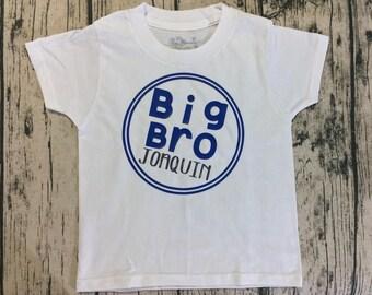 Big Bro Personalized Onesie/Toddler Shirt