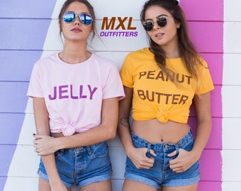 Peanut Butter and Jelly T-Shirt set