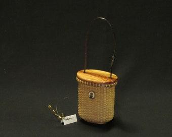 Nantucket Basket tall Boy Ornament Kit