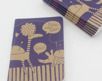 Blank notebook, sewing idea notebook, sketch book
