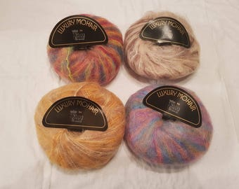 King Cole luxury mohair 50g ball of yarn.