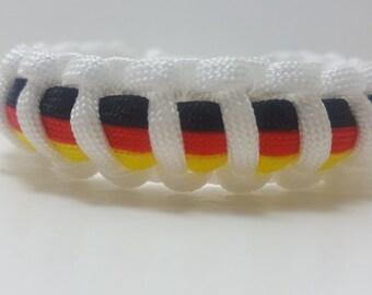 Germany Germany Paracord Bracelet