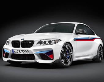 "BMW M2 vinyl graphics and decals kits ""BMW M Performance"""