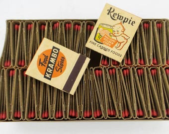 New Old Stock Kewpie Matchbook lot x50