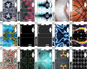 Choose Any 1 Vinyl Skin/Sticker/Decal Design for the Nintendo Wii U Console