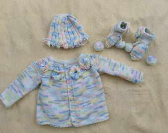 Baby Sweater Set for Preemies
