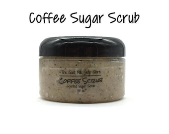 Coffee Sugar Scrub / Coffee Scrub