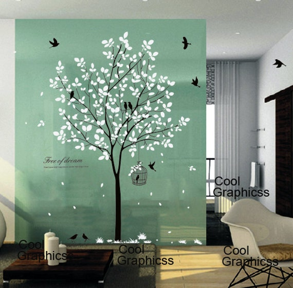 wall decoration ideas tree wall decal nursery wall sticker office wall decal bedroom 31004