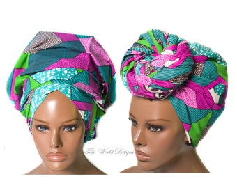 Musina African head wrap , African wrap scarf, African headwrap , Head wraps for women , African Head scarf , HT249