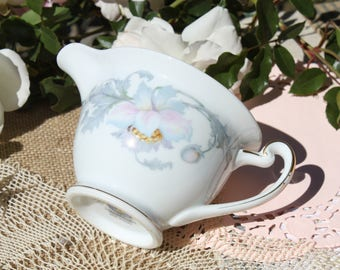 floral creamer monmouth pattern hand painted