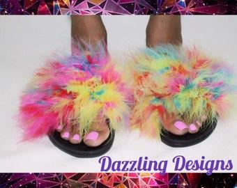 Furry Fashionable Footwear