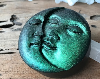 Afterlife Moon and Sun Soap - Vegan - Body and Face Soap - Refreshing Scent - Sulfate Free Bar Soap