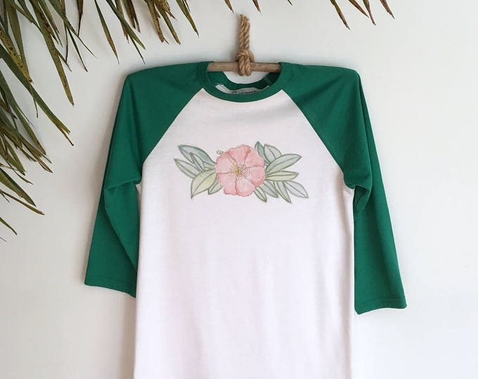 Vintage style tropical top