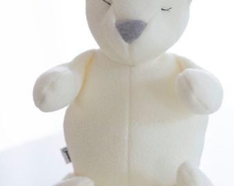 Whimsical Stuffed Bear, Stuffed Animal, Bear, Plush Bear, Baby Gift, Softie