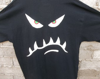 Vintage T-Shirt Glow in the Dark Ghoul Halloween XL Cool 1990s 90s