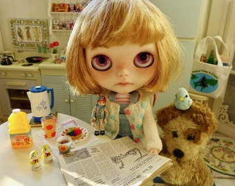 Barbie & Blythe Size Breakfast