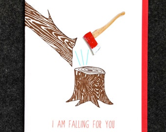 I am falling for you.