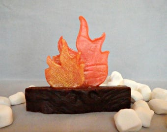 Campfire S'mores Soap