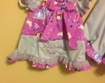 Sophia the first shirt and shorts set