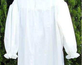 Mens( L, Xl or 2XL)  Night Gown Night Shirt Nightshirt Ebenezer Scrooge