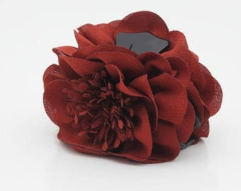 Long Stamen Pistil Flower Hair Claw Clip Women Hair Clamp