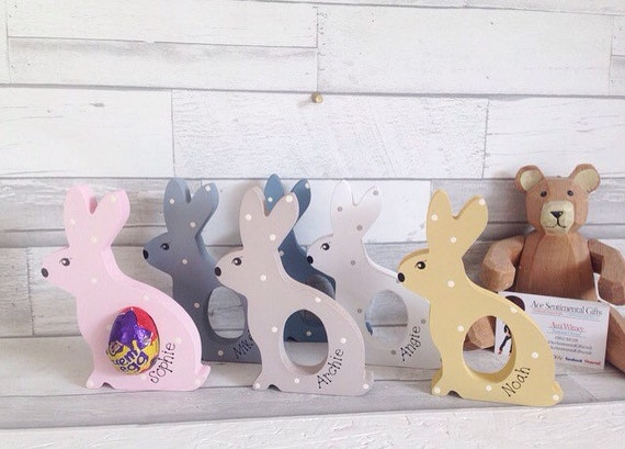 Kids easter gift personalised easter present freestanding like this item negle Choice Image