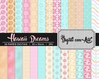 50% OFF - Hawaii Dreams Digital Paper