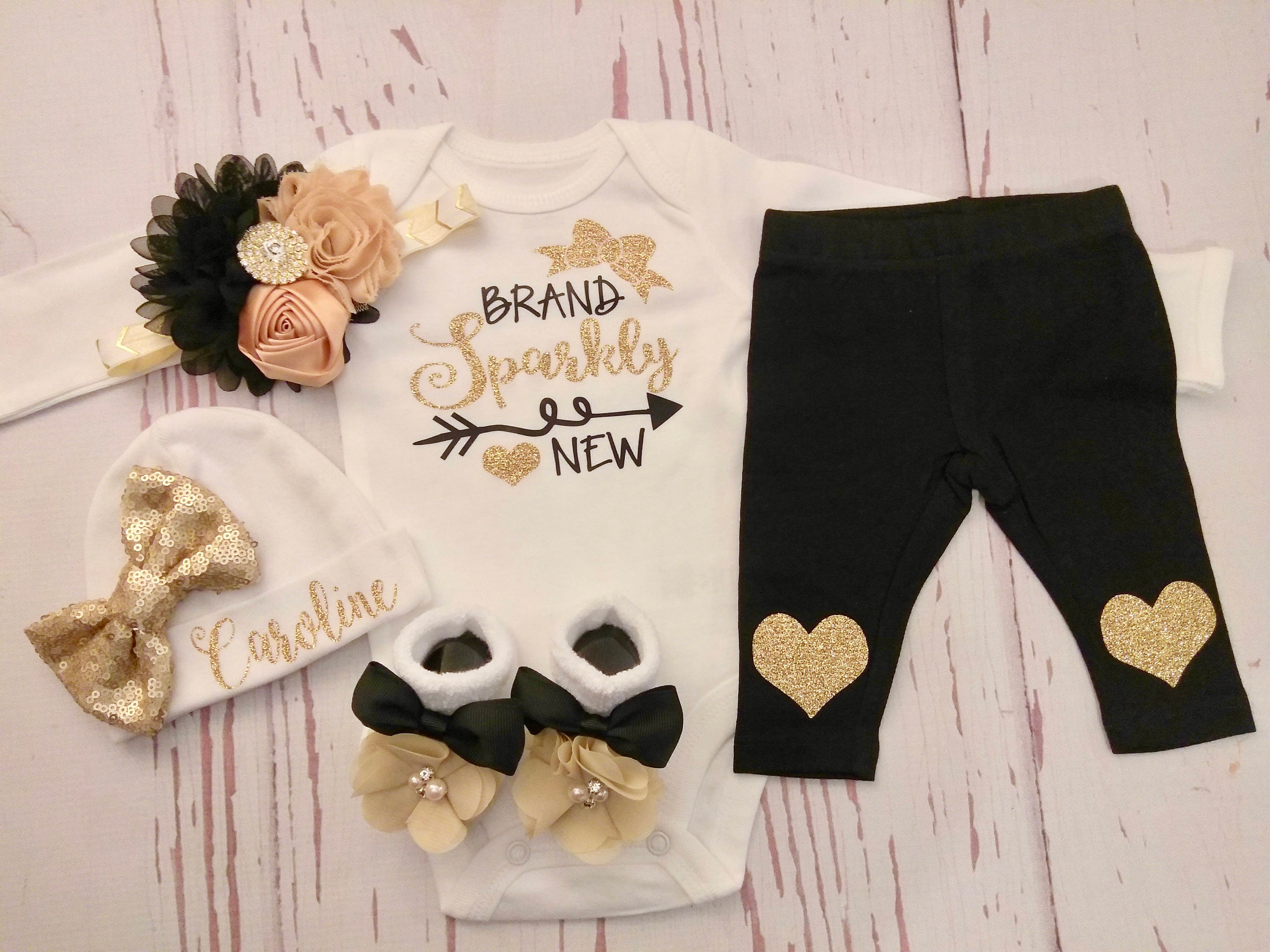 Baby Girl Coming Home Outfit Newborn Baby Girl Clothes