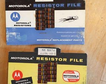 Motorola Resistors-two packs