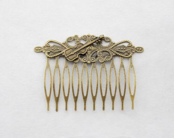 Violin Hair Accessories, Violin Hair Clip, Violin Gift, Violinist Gift, Violin Hair Combs, Music Lover Gift, Recital Gift, Musician Hair