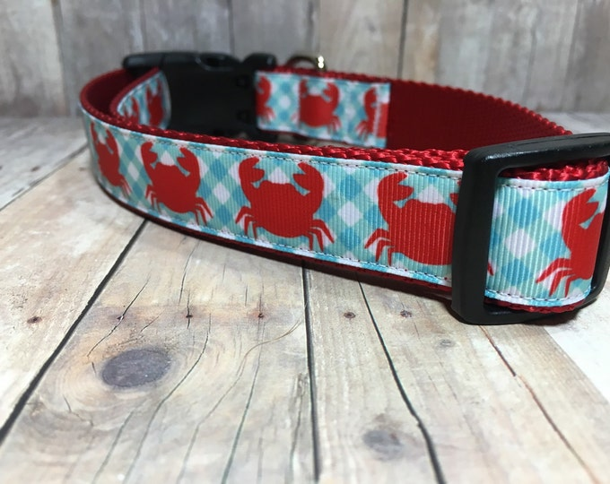 "The Thornton - Designer 1"" Width Dog Collar -  CupcakePups Dog Collars -"