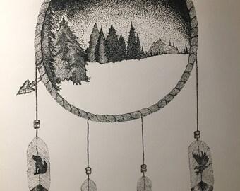 Sacred Land (print)