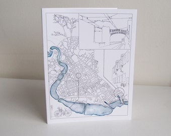 Greeting Cards - Cambridge-inspired