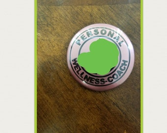 Personal wellness coach buttons