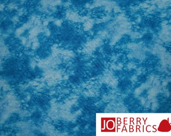 Blue Tonal Fabric, Splash by Blank Quilting, Quilt or Craft Fabric, Fabric by the Yard