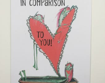 Vampire Valentine: Everyone I'm-Pales in Comparison to You!