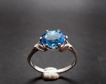 Electric Blue Topaz Classic Cut - Any Size - Made to Order