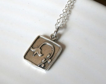 Sterling Silver Lily Of The Valley Necklace