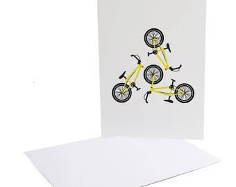 BMX Greetings Card