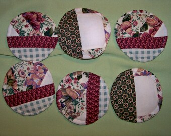 Flower Garden Coasters - Set Of 6