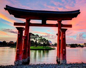 Japan / Pagoda 8 x 10 / 8x10 GLOSSY Photo Picture