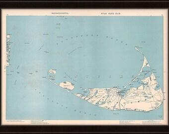 0398-Map of Nantucket 1904