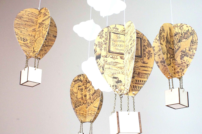 party foot small funky com makes decor balloon an that ceiling hot part air impact closdurocnoir chandelier