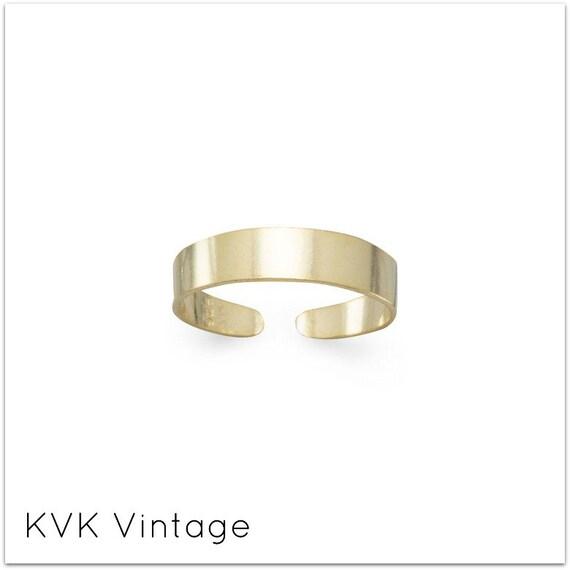 14 Karat Gold Plated Toe Ring - Toe Ring - Rings for Toes - Foot Fetish - Sterling Toe Rings - Toe Rings