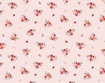 Riley Blake - Sweet Prairie Posie C6541 Pink by Sedef Imer - Calico, Quilt, Quilting, Crafts