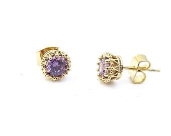 Gold Stud Earrings, Minimal Stud Earrings, Stud Earrings, Unique Earrings, Wedding Earrings, Gold Earrings, Statement Earrings, Womens Gift