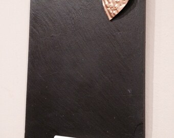 Reclaimed Slate Message Board |entryway sign| beach decor | slate chalkboard|menu board|welcome sign| Kitchen decor |housewarming gift