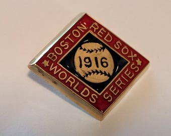 1916 Boston Red Sox World Series Press Pin - Replica