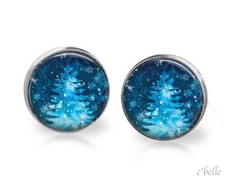 Christmas Earrings Winter-34
