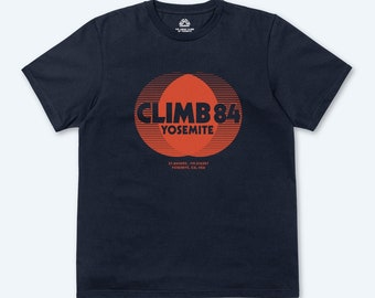 CLIMB84 RAYS T-SHIRT (NAVY)